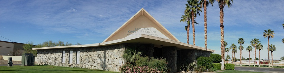 A Church of the Nazarene in the Coachella Valley